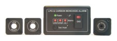 WG300-LLC-V  - Gas Control System with LPG & CO sensors